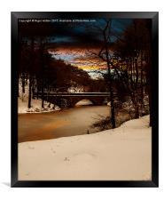 Fairholmes Bridge, Framed Print