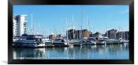 Sovereign Harbour, Framed Print