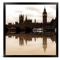 Westminster, Framed Print