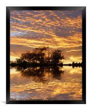 September Evening, Framed Print