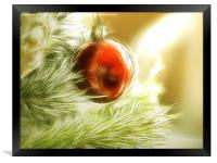 Essence of Christmas, Framed Print