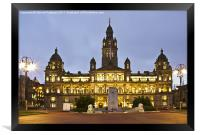 City Chambers In George Square, Framed Print