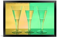 Coloured Glasses, Framed Print