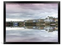 Millport Pier, Framed Print