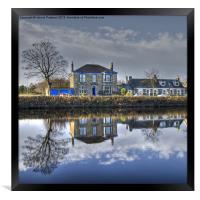 Reflection on Waterside, Framed Print