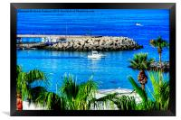 Costa Adeje Harbour, Framed Print