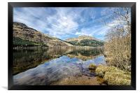 Loch Eck Reflection, Framed Print