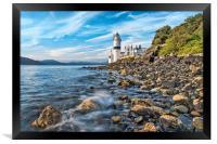 Cloch Lighthouse Gourock, Framed Print