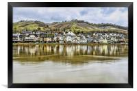 The Moselle Valley, Framed Print