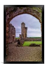 Crossraguel Abbey Tower House , Framed Print