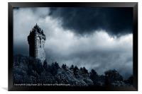 Wallace Monument, Scotland, Framed Print