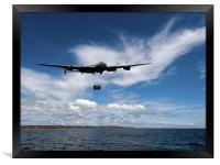 Lancaster releasing Upkeep, Framed Print