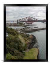 Forth Rail Bridge from North Queensferry, Framed Print