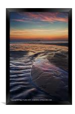 Whitesands Bay Sunset, Framed Print