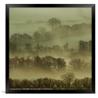 Pencelli Mist, Framed Print