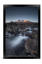 Cuillins Dawn, Framed Print