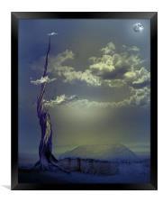 Beanstalk 2, Framed Print