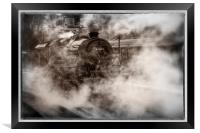 44871 Steam Locomotive, Framed Print