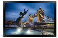 Dance at the Tower, Framed Print