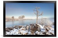 Loch Ba Winter, Framed Print