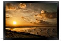 Saunton Sands, Framed Print