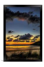 Saunton Sands North Devon, Framed Print