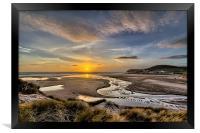 Croyde Bay, Framed Print