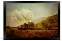 The Jacobite Steam Train, Framed Print