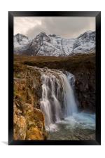 Fairy Pools Waterfall, Isle of Skye, Framed Print