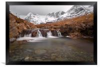 Fairy Pools, Isle of Skye in Winter, Framed Print