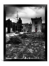 Castel Qannotta, Framed Print