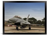 Eurofighter Typhoon, Framed Print