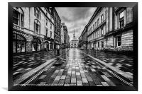 Merchant City Glasgow, Framed Print