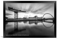 Scotland Finnieston Crane Glasgow, Framed Print