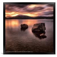 Loch Lomond Argyll, Framed Print
