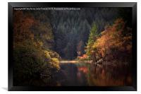 Loch Ard in Autumn, Framed Print