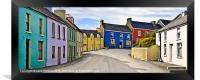 Eyeries Village, West Cork, Ireland, Framed Print