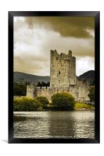 Ross Castle, Killarney, Kerry, Ireland, Framed Print