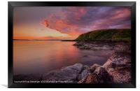 Portencross Sunset, Framed Print