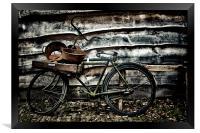 dutch bike, Framed Print