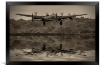 Departing Lancaster, Framed Print