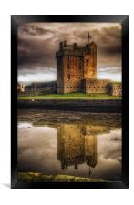 Broughty Castle, Framed Print