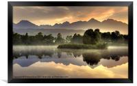 Slovakian Dawn, Framed Print
