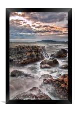 Rocks of the Nothe, Framed Print