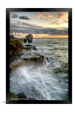 Sunset at the Pulpit (2), Framed Print