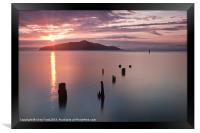 Sausalito Old Pier, San Francisco, Framed Print