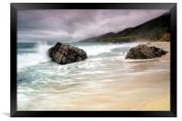 Garrapata Beach, CA, Framed Print