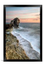 Pulpit Rock Sunset, Framed Print