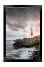 Sunkissed Portland Lighthouse, Framed Print