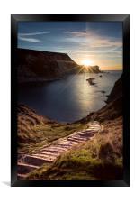 First Light at Man oWar Bay, Framed Print